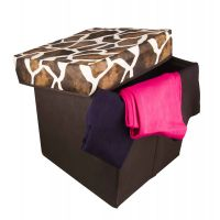 Attrective Foldable Storage Stool