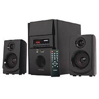 INTEX 295 SUF VOGUE 2.1 MULTIMEDIA SYSTEM WITH USB+FM+MMC+REMOLT - 5.25'' WOFER