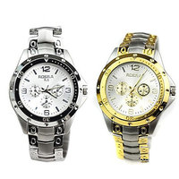 combo Rosara watches for Men Golden  silver BY MISS