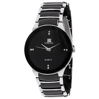 Iik Collection Black Analog Round Casual Watch BY MISS