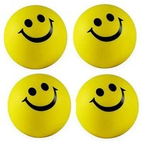 SMILEY BALLS SET OF 2 Hand Massage MASSAGER BALLS STRESS RELAXING BALL PALM