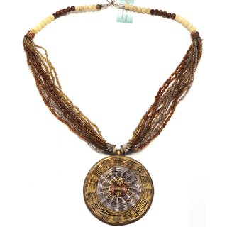 Body Tantra Fancy Necklace For All The Fun Loving Girls # ETN-172