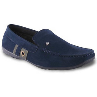 Wonker Men's Blue Casual Loafers
