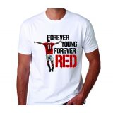 Forever Young Forever Red Soccer Club Men's T-Shirt