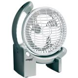 EVEREADY Rechargeable TABLE Fan with LED lights+auto on+150mm sweep