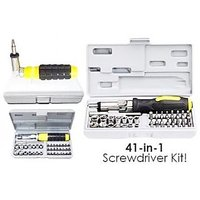 NEW 41 In 1 Pcs Tool Kit & Screwdriver Set Very Useful For Home-Office, PC & Car