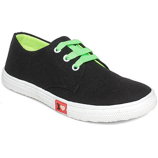 Vendoz Women Black Casual Shoes