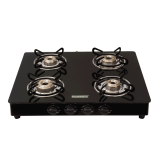 Evita 4B Glass Top Gas Stoves