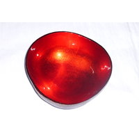 Handmade Lacquer Coconut Shell Bowl - 3665372