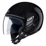 Studds Open Face Helmet-Cub Black