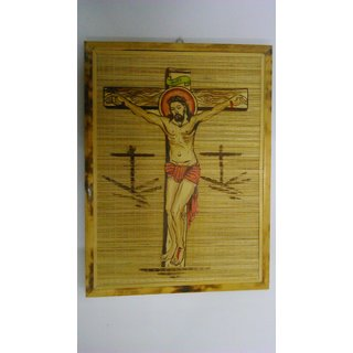 Fair Craft Bamboo Board Art Jesus