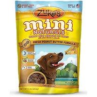 Zuke's Mini Naturals Dog Treats, Fresh Peanut Butter Recipe, 1-Pound