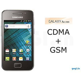 SAMSUNG GALAXY ACE DUOS I589 (METALLIC GREY)  GSM+CDMA available at ShopClues for Rs.9999