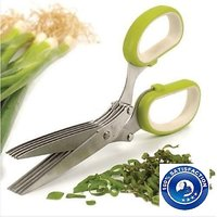 Multifunction 5 Blades Scissors-Vegetable Chopper-Paper Shredder