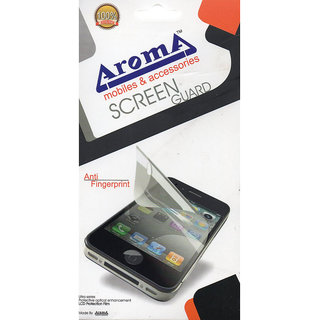 Aroma Clear Screen Guard For Micromax Canvas juice A77