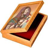 Ethnic Gemstone Painted Wooden Ethnic Jewelry Box