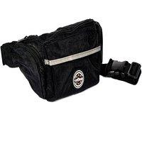 Viaggi Unisex black waist bag