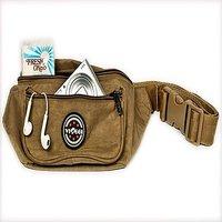 Pack My Bag Unisex Waist Pouch (Brown)