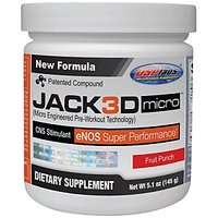 USPlabs Jack3D Micro, 146 Gms-Lemon Lime