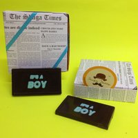 'Its A Boy' Chocolate Bar - A Pack Of 4