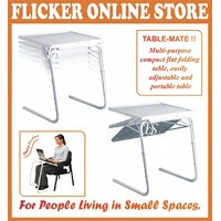 GE TABLE-MATE II PERFECT PORTABLE  FOLDABLE MULTI-PUROOSE TABLE with free gift