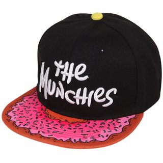 ILU The Munches  Black cap for Men Women Girls Boys Snapback hiphop and baseball caps