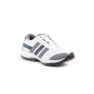 Foot N Style White & Grey Sports Shoes Fs460