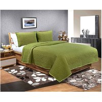 Solace Luxurious Quilt Cum Bedspread With Pillow Cover Set (SHSQBDB-004)