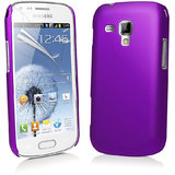 Samsung 7562 Purple Hybrid Hard Back Case Cover For Samsung Galaxy S Duos 7562