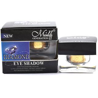Mn Diamond Eye Shadow With Free Lipstick Rubber Band