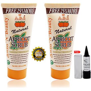ADS Natural Apricot Scrub 5oml Buy 1 Get 1 Free With Kajal