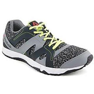 6d188fcd1248 15% OFF on Reebok Men Run Essence Grey Running Shoes on Shopclues ...