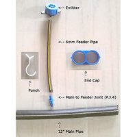 Drip Irrigation Diy Mini Kit...this Is Full Kit For 10 Plants In Straight Line..
