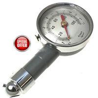 Dial Tyre Pressure Gauge Meter Metal Body