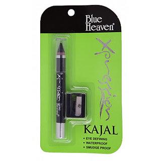 Blue Heaven Xpression Kajal Pencil With Sharpner (set of 4 pcs.)