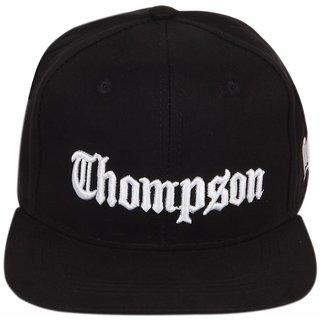 ILU Chompson Black Snapback Hiphop Baseball Caps for Men Women Man Free Size Girls Boys Cap Hats