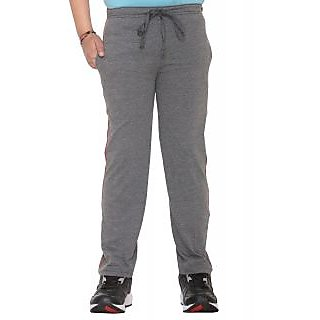Vimal Dark Grey Cotton Blended Trackpant For Boys