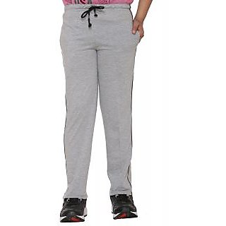 Vimal Gray Melange Cotton Blended Trackpant For Boys