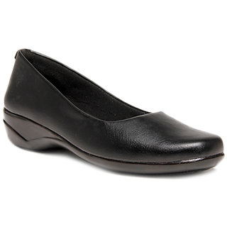 Hansx Women Black Slip on Casual Shoes ]