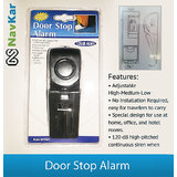 Door Stop Alarm Wireless For Home Security Portable Safety Anti Burglar Alarm