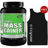 Medisys Double Mass Gainer -Chocolate 1.5kg Free Sando