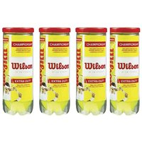Wilson Championship Extra Duty 3T Ball (4 Cans of 3 Balls Each) pack of 4