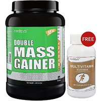 Medisys Double Mass Gainer - Banana - 1.5 Kg Free Multivitamin