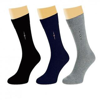 Arjay Mens Formal Socks-3 Pair-Classic-P2