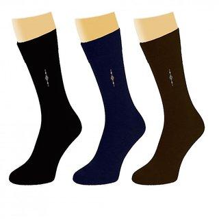 Arjay MenS Formal Socks-3 Pair-Classic-P5