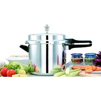 Mahavir Aluminium Pressure Cooker Induction And Lpg Compatible