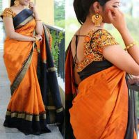 Best Selling Women Clothing Starting @ Rs.99 By ShopClues | Leeps Prints Printed Bhagalpuri Saree With Unstitched Blouse @ Rs.399