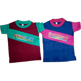 Kids Half Sleeves Tees Pack Of 2