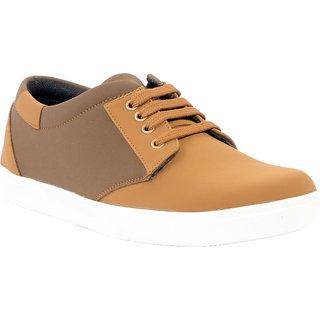 Salt Smart Men's brown Lace-up Casual Shoe's