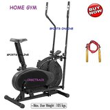 Lifeline Orbitrack Orbitrek Bike Exercise Cycle Home Gym Loose Weight+S Rope